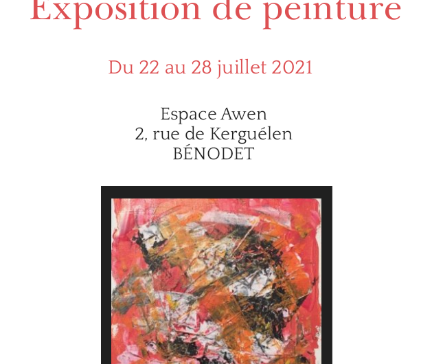 Affiche expo M Brenner
